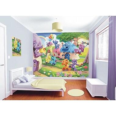 WallPops! Walltastic Wall Art The Button Bears 10' x 96'' Wall Mural