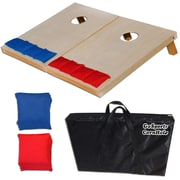 GoSports Tailgate Solid Wood Corn Hole Set