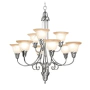 Woodbridge Hudson Glen 9-Light Shaded Chandelier