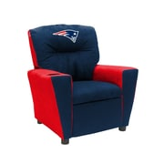 Imperial NFL Kids Recliner w/ Cup Holder; New England Patriots