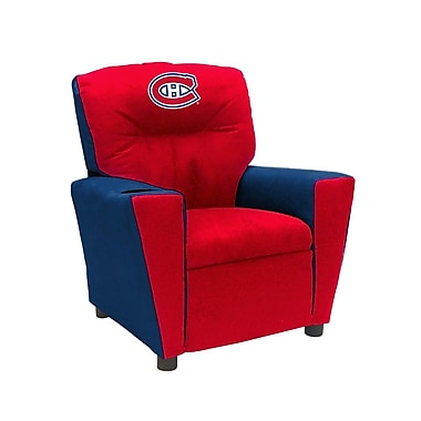Imperial NHL Kids Recliner w/ Cup Holder; Montreal Candien
