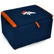 Imperial NFL Upholstered Storage Ottoman; Denver Broncos