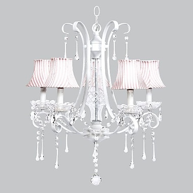 Jubilee Collection Colleen 5-Light Crystal Chandelier