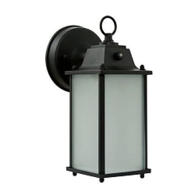 EfficientLighting 1-Light Outdoor Wall Lantern