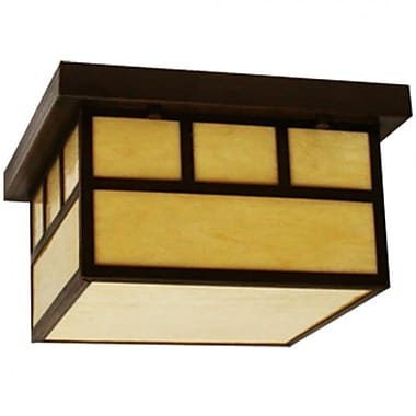 EfficientLighting 2-Light Flush Mount