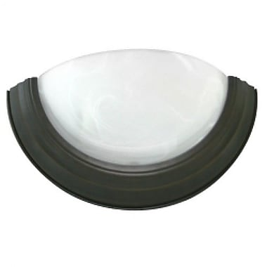 EfficientLighting 1-Light Wall Sconce; Brushed Nickel