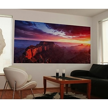 WallPops! Home Decor Line Sunrise Canyon 6.6' x 38.6'' Wall Mural
