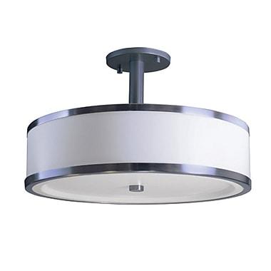 EfficientLighting 3-Light Flush Mount