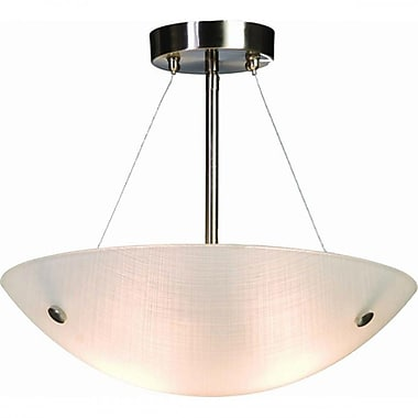 EfficientLighting 2-Light Bowl Pendant