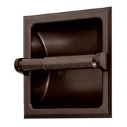 Gatco Recessed Toilet Paper Holder; Bronze