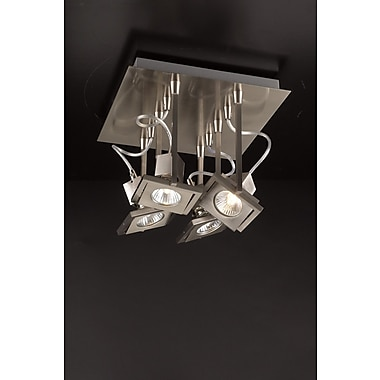 PLC Lighting Square 8'' Semi Flush Mount