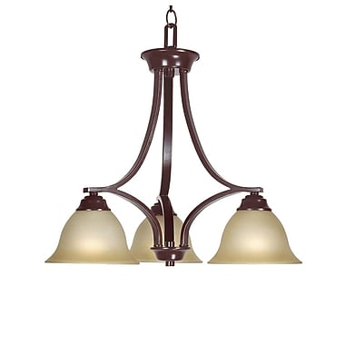 Woodbridge Marissa 3-Light Shaded Chandelier