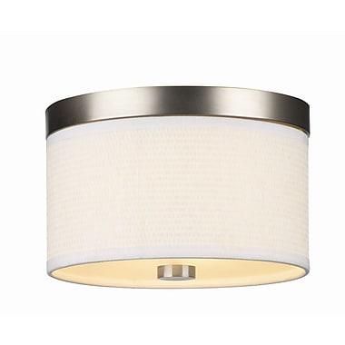 Philips 2-Light Flush Mount; (2) 40W Incandescent Bulbs