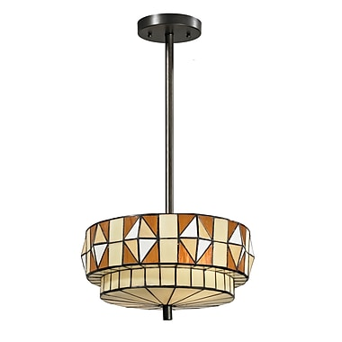 Dale Tiffany Wescott 2-Light Pendant