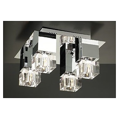 PLC Lighting Charme 4-Light Semi Flush Mount
