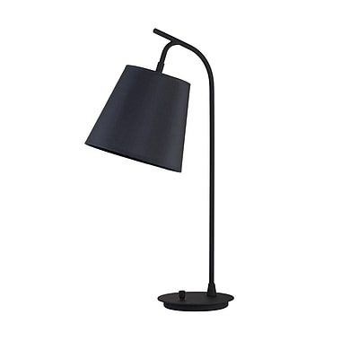 Lights Up! Walker 26'' Desk Lamp; Pebble Silk Glow
