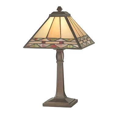 Dale Tiffany Slayter 13.75'' Table Lamp