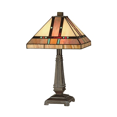 Dale Tiffany Mission 17'' Table Lamp