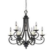 Designers Fountain Barcelona 9-Light Candle-Style Chandelier
