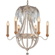 Flambeau Lighting Louis 6-Light Crystal Chandelier