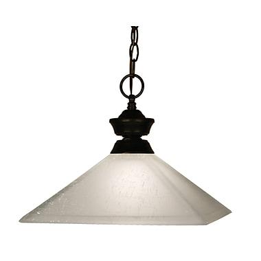 Z-Lite 1-Light Pendant; Bronze