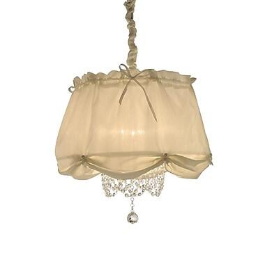 OK Lighting Luxe 3-Light Pendant