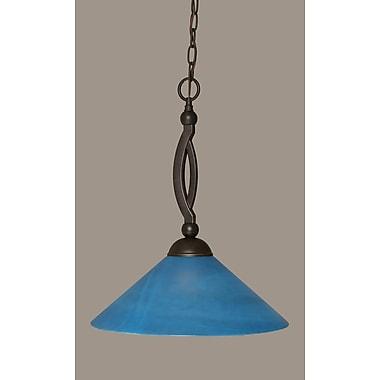 Toltec Lighting Bow 1-Light Pendant