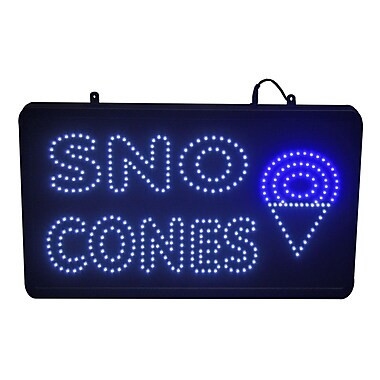 Paragon International LED Sno Cone Sign