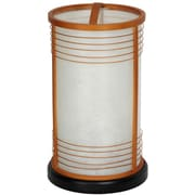 Oriental Furniture Japanese 13.5'' Table Lamp; Natural
