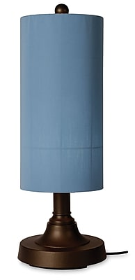 Patio Living Concepts Coronado 30'' Table Lamp; Melon Canvas