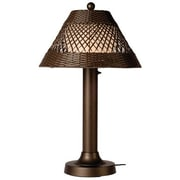 Patio Living Concepts Java 34'' Table Lamp; Walnut