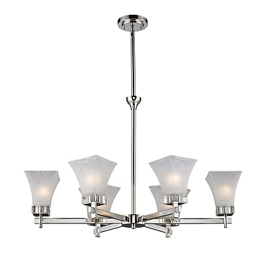 Z-Lite Pershing 6-Light Shaded Chandelier