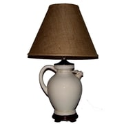Lamp Factory Aged Jug 28'' Table Lamp