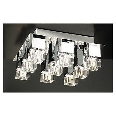 PLC Lighting Charme 9-Light Semi Flush Mount