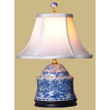 Oriental Furniture Porcelain Jar 17'' Table Lamp