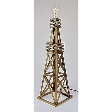 Metrotex Designs Oil Derrick 24'' Table Lamp; Gold