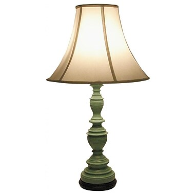 Lamp Factory Circle Column 27'' Table Lamp