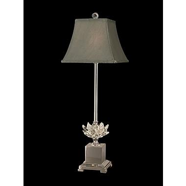 Dale Tiffany Lucinda Crystal29'' Buffet Lamp