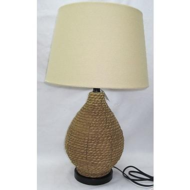 Santa's Workshop Jute Jug 26.5'' Table Lamp