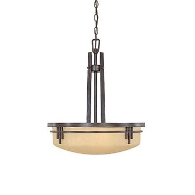 Designers Fountain Mission Ridge 3-Light Inverted Pendant