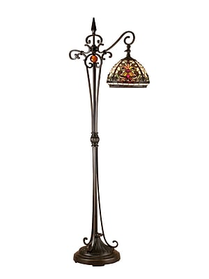 Dale Tiffany Boehme 59.5'' Arched Floor Lamp