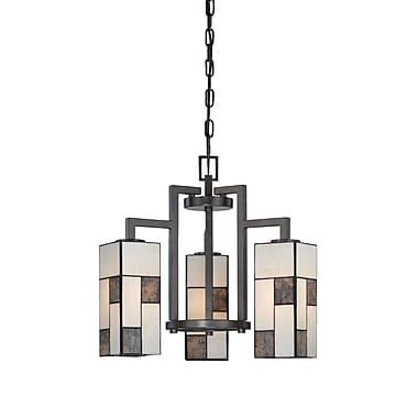 Designers Fountain Bradley 3-Light Shaded Chandelier
