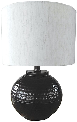 Santa's Workshop Hammered Metal 18'' Table Lamp