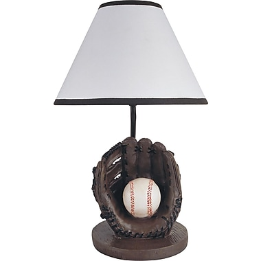 Milton Green Star Youth Baseball 15.75'' Table Lamp