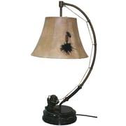Santa's Workshop Spinning Reel 27'' Table Lamp