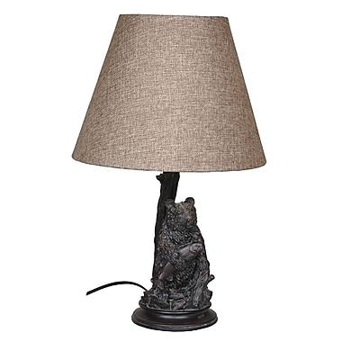 Santa's Workshop Seated Bear 24.5'' Table Lamp