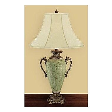 JB Hirsch Kiwi Ormolu Vase 30'' Table Lamp