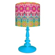 Oopsy Daisy Graphic Blooms 21'' Table Lamp