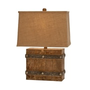 EC World Imports Urban Antiqued Weathered 23'' Table Lamp