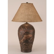 Coast Lamp Mfg. Rustic Living Fish Pot 30.5'' Table Lamp